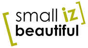 Small Iz Beautiful - Logo