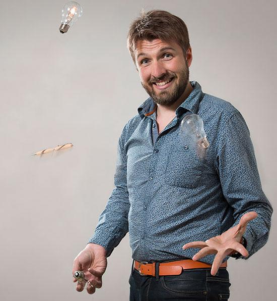 Nicolas Potier - La Pirogue Agence de communication pour une transition éclairée